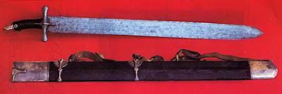foto pedang nabi muhammad Al Battar