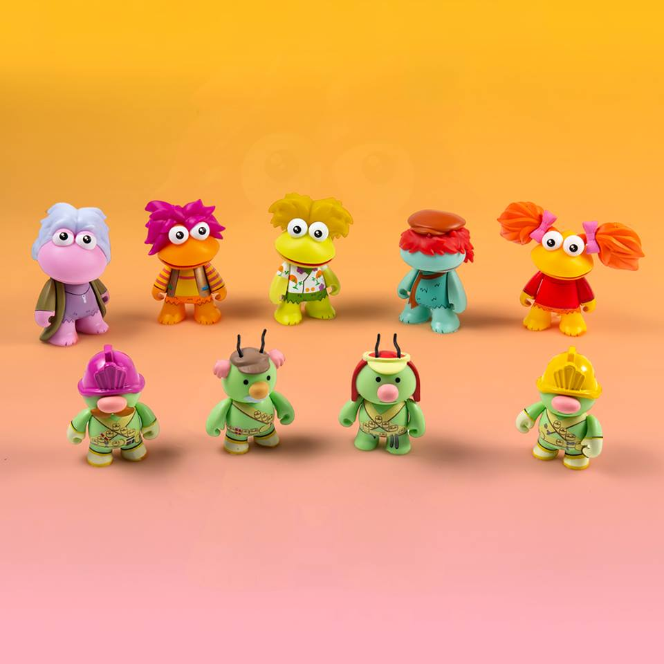 Kidrobot HBO FRAGGLE ROCK MOKEY Keychain Vinyl Mini Figure Open Box IN STOCK