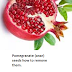 Pomegranate (anar) seeds how to remove them.
