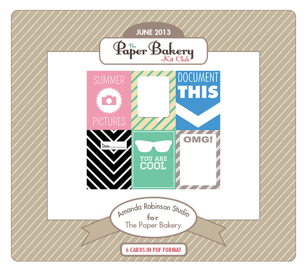 Paper Bakery June Free Printables
