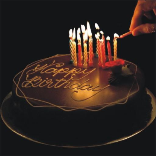 happy birthday dp cake