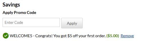 iHerb tarjoaa ensitilaajan alennuksen $5 koodilla WELCOME5