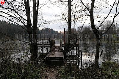 Река Ислочь. Плотина