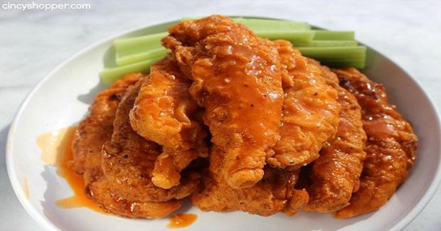 Buffalo Chicken Strips Recipe