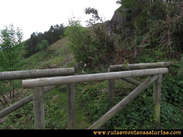 Ruta Ablaña Llosorio: Saliendo del mirador de Seana, al pico Roíles