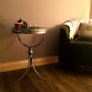 Tea Table in C & B Therapy Spa, Portlaoise