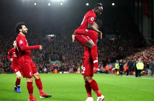 Liverpool take over the castle of Bavaria on the remains of Bayern