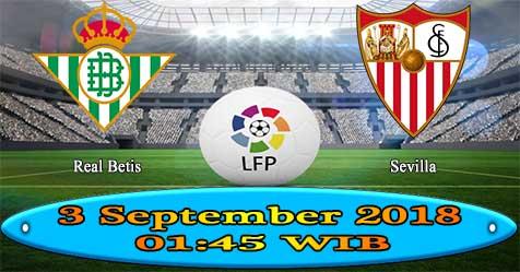 Prediksi Bola855 Betis vs Sevilla 2 September 2018