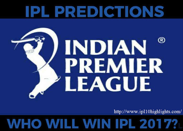 VIVO INDIAN PREMIER LEAGUE IPL 10 ALL MATCH PREDICTION