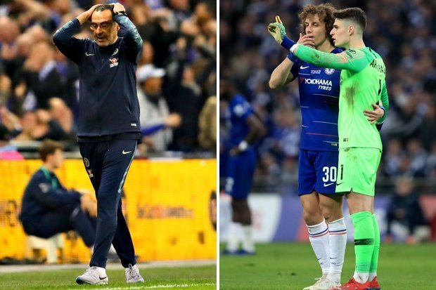 Kepa Substitution was a Big Misunderstanding- Sarri