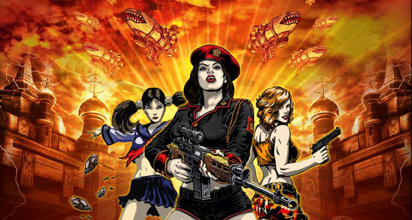 Las Chicas de Command & Conquer Red Alert