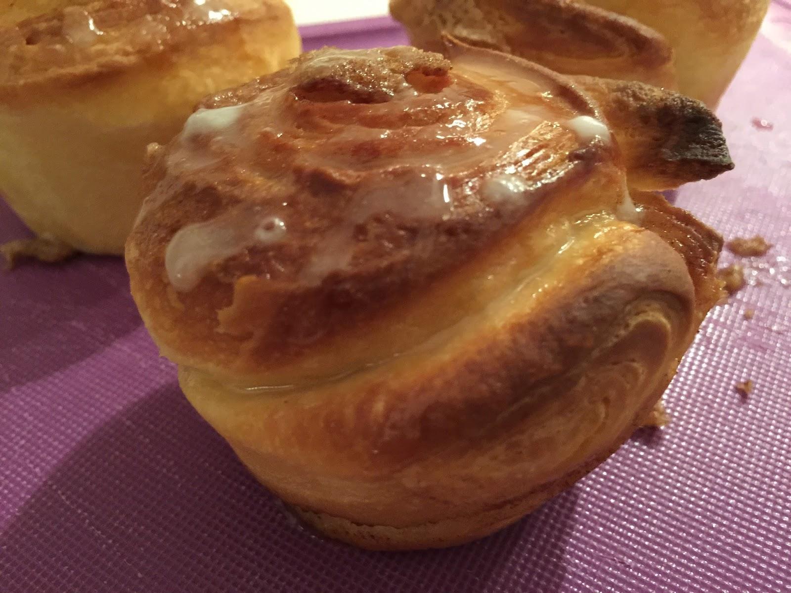 La Pasticcioneria Cinnamon Rolls Con Pasta Croissant Di Luca Montersino