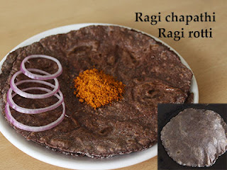 Plain ragi rotti recipe in Kannada