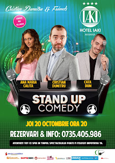 Stand-Up Comedy Joi 20 Octombrie Constanta