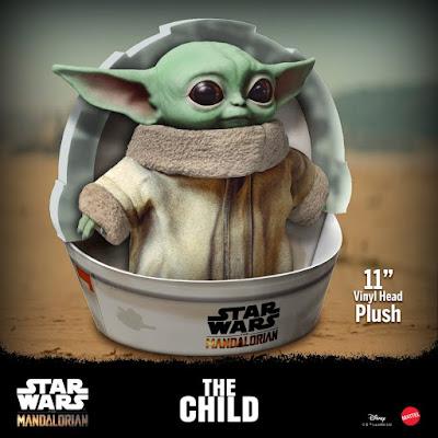 Figuras: Adorable peluche de Baby Yoda por Mattel