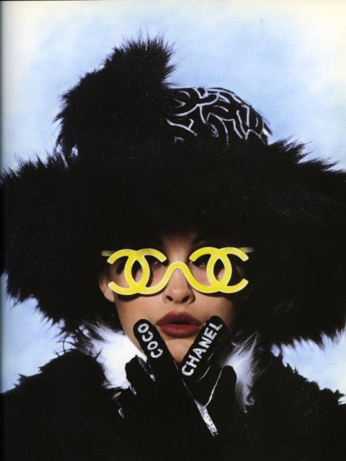 b3dd4c660b3 Selima Optique  Slices of Inspiration  Early 90 s Chanel Frames