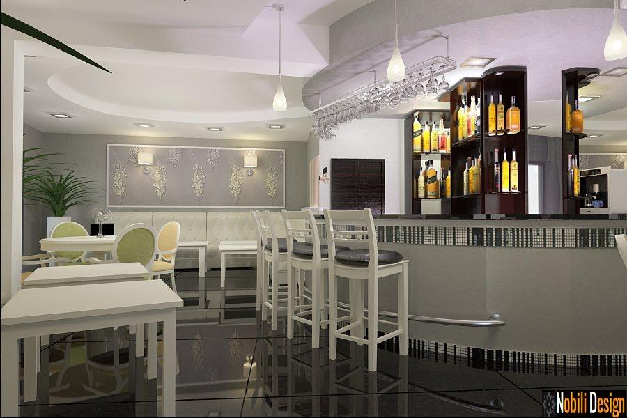 Design interior baruri cafenele Bucuresti - Amenajari interioare restaurante
