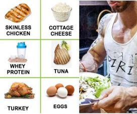 healthy diet to build muscle and lose fat