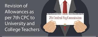 7thCPC-Allowances-University-College-Teachers