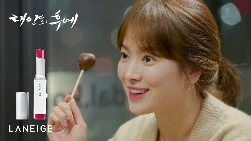 Song Hye Kyo Descendants Of The Sun Lipstick
