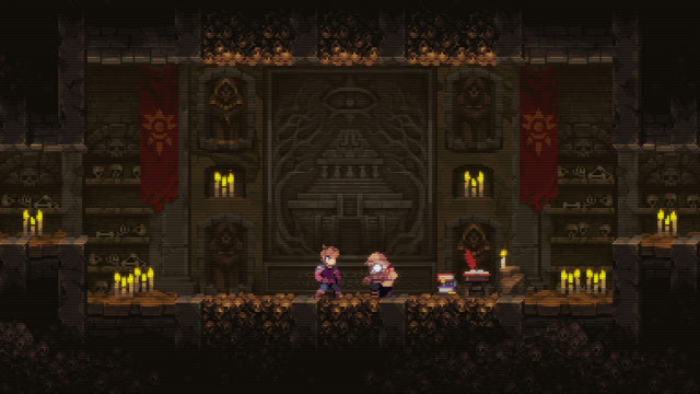 Chasm - we always knew that evil aliens were friends with freemasons