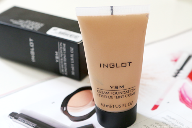 Inglot YSM Cream Foundation Review