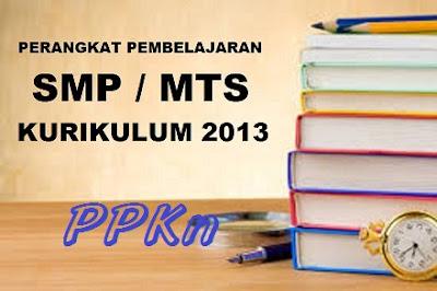 Perangkat Pembelajaran PKN SMP Kelas 7, 8, 9 Kurikulum 2013 Revisi 2017