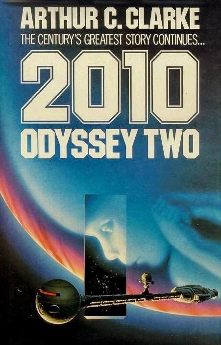2010 Odisea dos libro