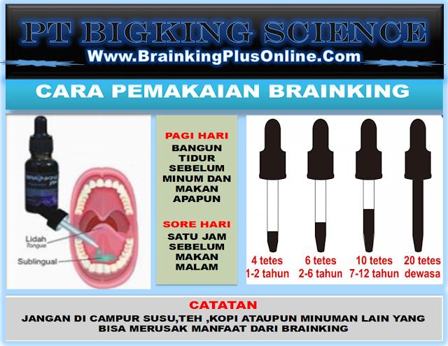 Cara Minum Brainking Plus