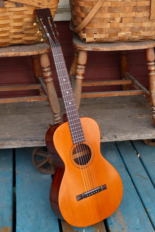 1898 Vega Rosewood Parlor Guitar