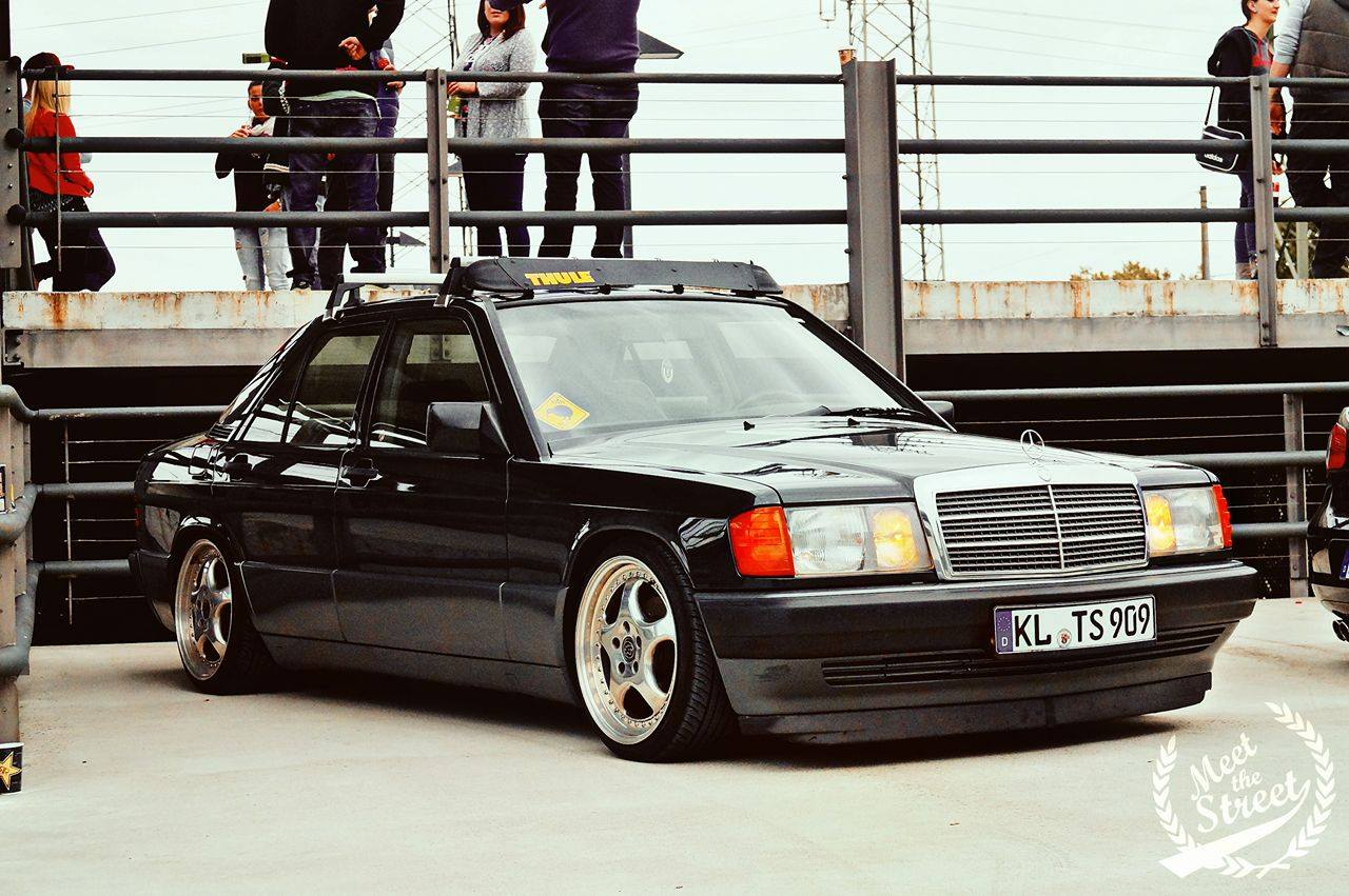 mercedes benz w201 190e bagged benztuning. Black Bedroom Furniture Sets. Home Design Ideas