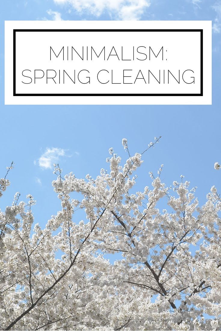Click to read now or pin to save for later! Spring is in the air! It's time to clean like a minimalist