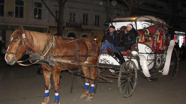 Карета на улице Николаева