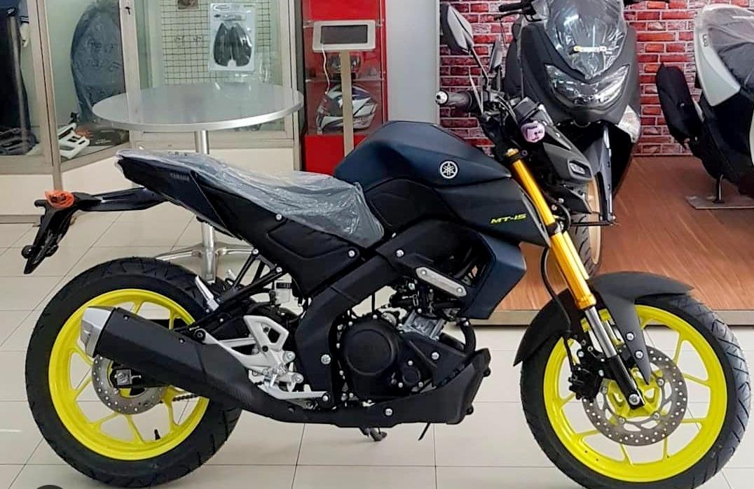 Yamaha MT-15 sudah sampai di dealer, harga mulai 36 Jutaan !