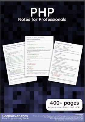 php programming pdf book notes download for free