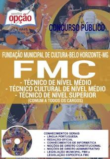 Apostila FMC BH 2016/2017 Técnico de Nível Médio