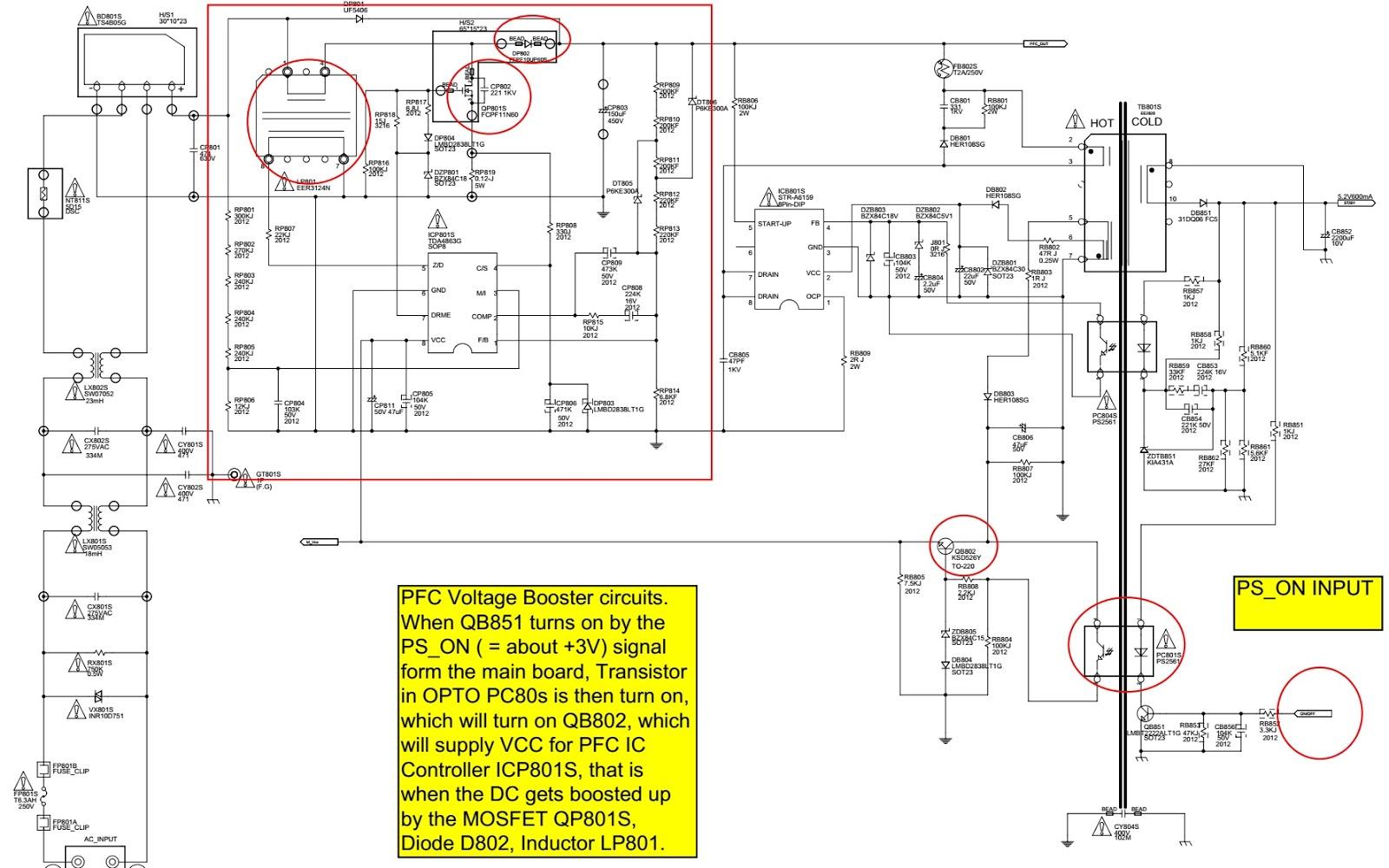 Schematic Diagrams  Bn44 00195 Smps Circuit Diagram  U2013 For