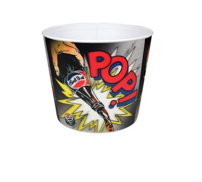 Balde de Pipoca da Pepsi