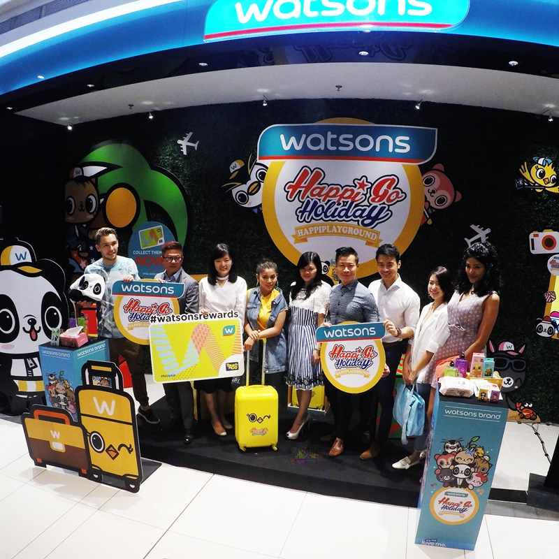 Watsons Malaysia, Happiplayground, HappiGoShopping, Travel Essentials, Rawlins GLAM, Rawlins Travels, quality products
