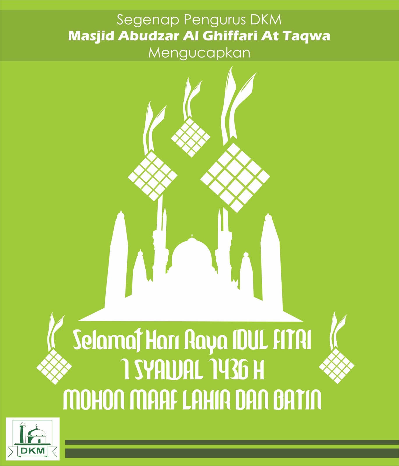 Rw 18 Aren Jaya Kota Bekasi Minal Aidin Wal Faidzin Selamat Hari