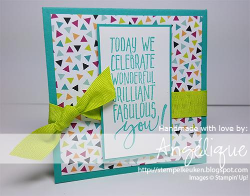 de Stempelkeuken Stampin'Up! producten koopt u bij de Stempelkeuken http://stempelkeuken.blogspot.com #stempelkeuken #stampinup #stampinupnl #stempelen #pictureperfectbirthday #kaartenmaken #cardmaking #papercrafts #punch #ribbon #pons #winkofstella #glitters #feestelijk #feestje #verjaardag #kaars #kaarsjes #vrolijk #diy #handmade #denhaag #thehague #snailmail #slakkenpost #stamping #berryburst #delft #westland #lint #bermudabay #lemon #lemonlimetwist #partypandas #panda