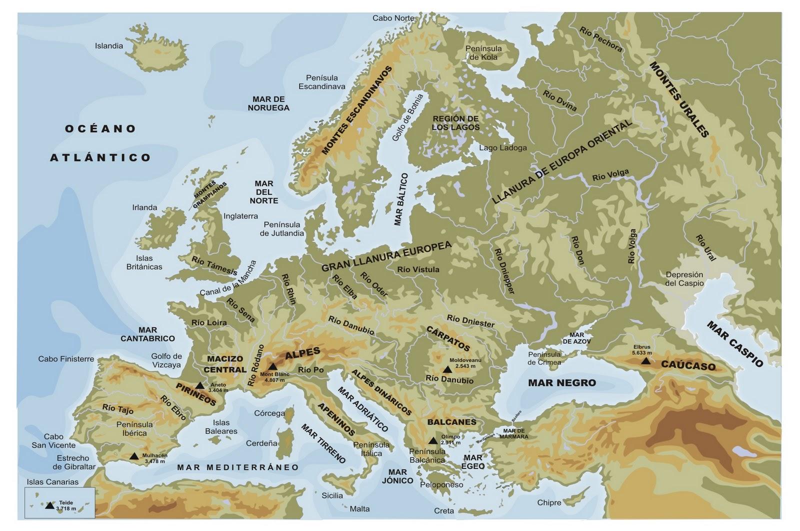 Conocimiento Del Medio Geografia
