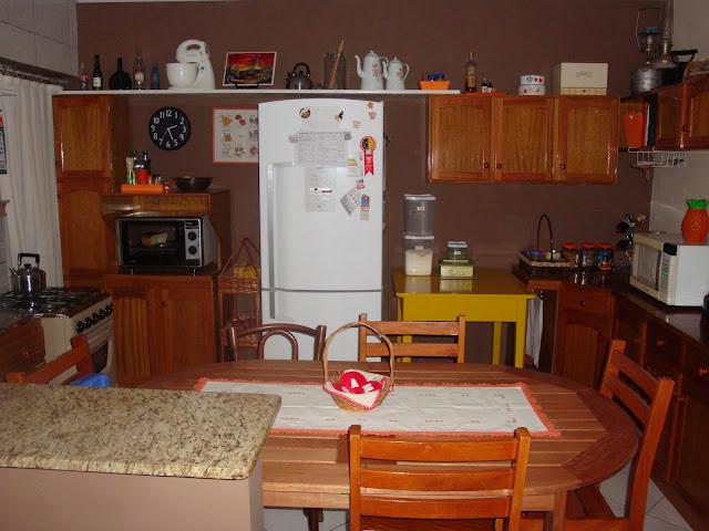 Minha cozinha no apê antes
