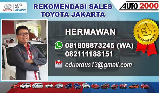 Rekomendasi Sales Toyota Green Garden Jakarta Barat