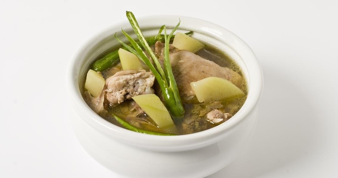 i am pinoy: Tinolang Manok Recipe (Pinoy)