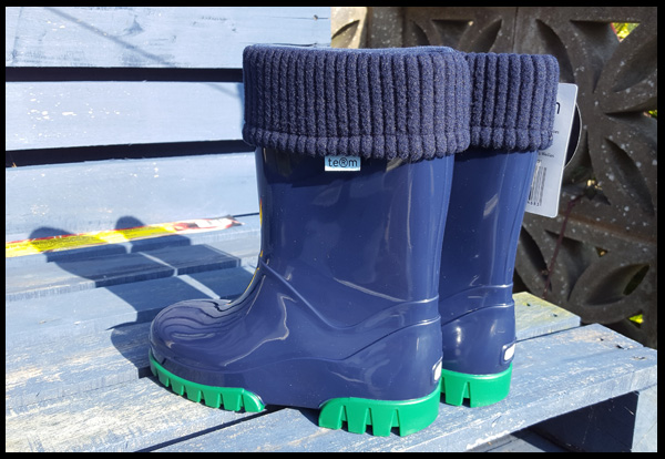 Win a pair of Term wellies for your child