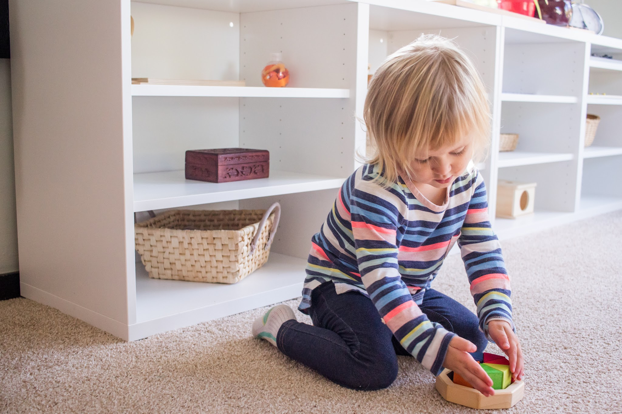Observation is key to seeing what your child has been doing at a Montessori school.