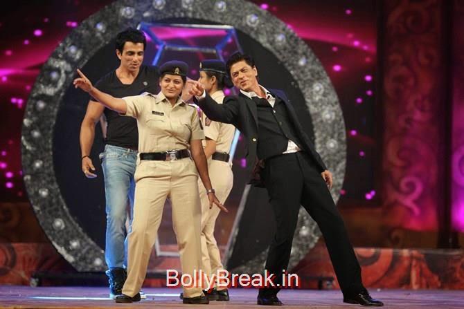Shah Rukh Khan, Sonu Sood, Katrina,  Shah Rukh, Priyanka, Deepika At Umang 2015