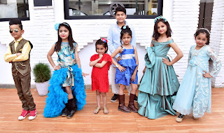 India kids fashion walk organised at 5th May