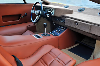 Lamborghini Countach LP400 Periscopio Dashboard